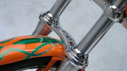 Custom Cycle Engineering Fork Braces