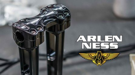 "10 inch ""Method"" risers from Arlen Ness"