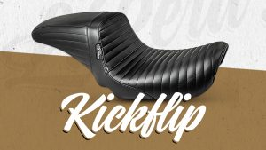 LePera Kickflip Pleated Seat for Dyna