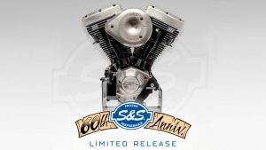 S&S Limited Edition 60th Anniversary Engine