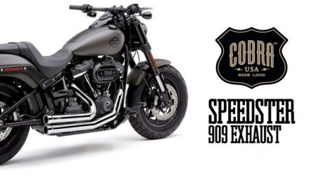 Speedster 909 Exhaust from Cobra USA