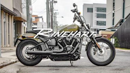 2-Into-1 Exhaust System for M8 Softails from Rinehart Racing