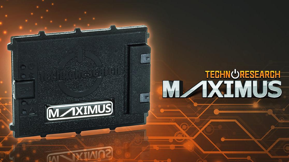 New Maximus Professional Grade EFI Tuner from TechnoResearch.