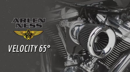Arlen Ness Velocity 65 Air Cleaner Kit