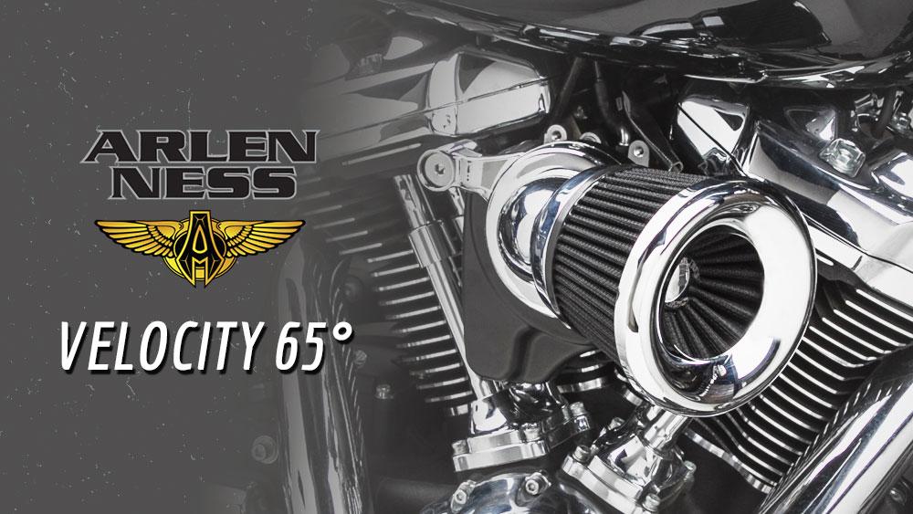 Arlen Ness Velocity 65 Air Cleaner Kit