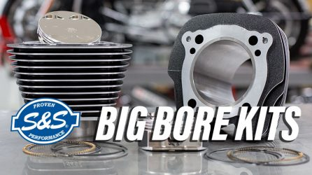 S&S Big Bore Kits for M8 Engines Available Now