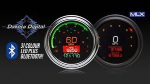 MLX Series Programmable LED Speedo/Tacho