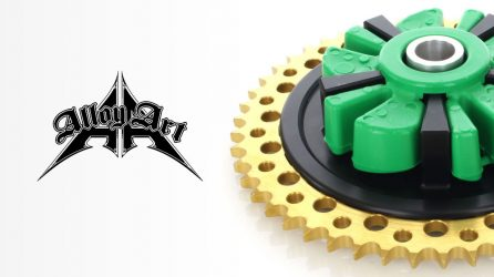 Alloy Art Cush Drive Chain Sprocket Kits for H-D Touring Models
