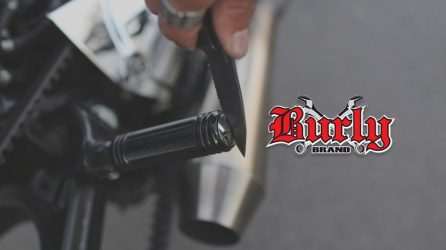 Stash Foot Pegs From Burly Brand