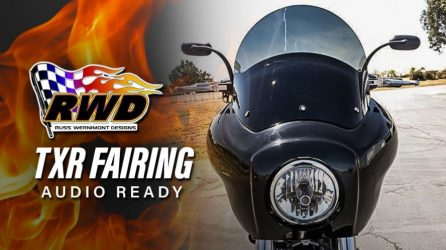 Audio-ready TXR Dyna Fairing by RWD