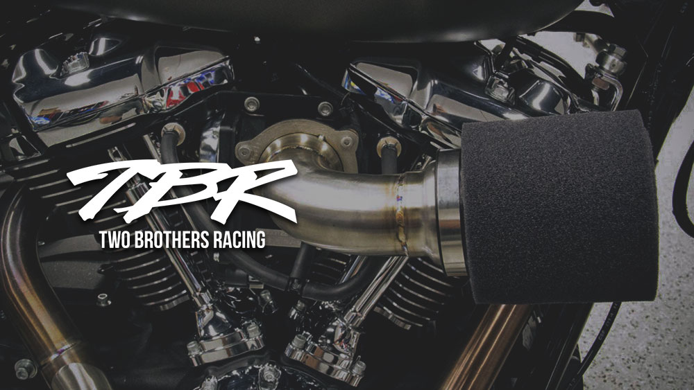 TBR Moto Intake for Softail, Touring, and Dyna