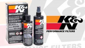 K&N Black Air Filter Oil Recharge Kit