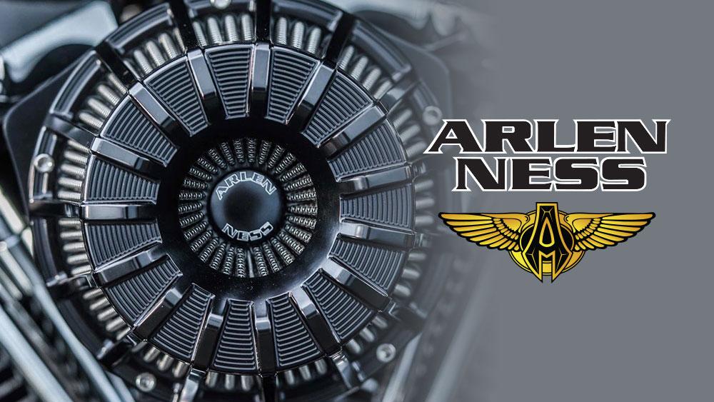 15 Spoke Air Cleaner Range from Arlen Ness