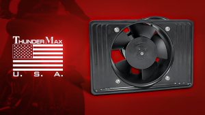 ThunderMax Oil Cooler Fan for 2017up Touring Models