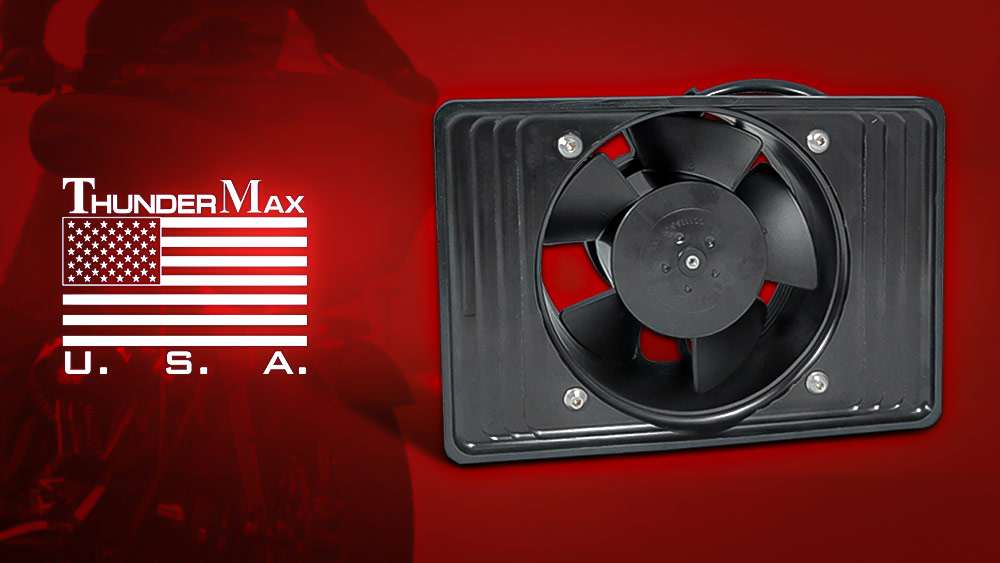 ThunderMax Oil Cooler Fan for 2017up Touring Models