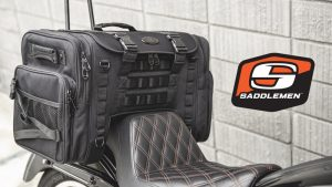 Saddlemen TS3200DE Tactical Deluxe Cruiser Tail Bag