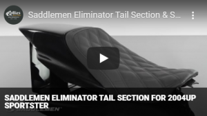 Saddlemen Eliminator Tail Section for 2004up Sportster