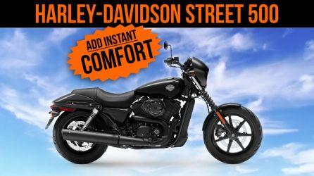 Harley-Davidson Street 500 Modified For Comfort