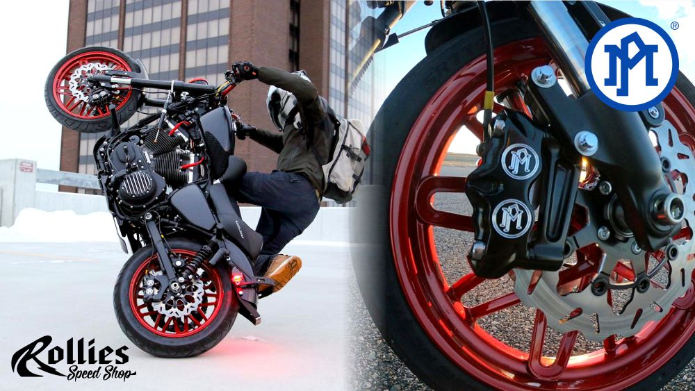 Performance Machine Calipers for Harley-Davidson Motorcycles