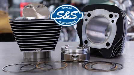 S&S Cycle Big Bore Kits for Milwaukee-Eight Engines