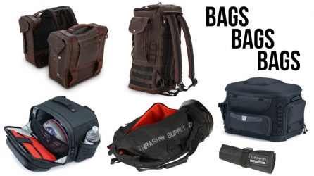 Saddlebags, Sissy Bar Backpacks, Handlebar Bags & More