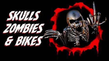 Skulls, Zombies & Kickass Bikes