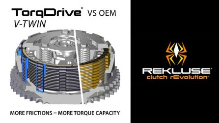 Rekluse clutch rEvolution: TorqDrive, RadiusX & RadiusCX
