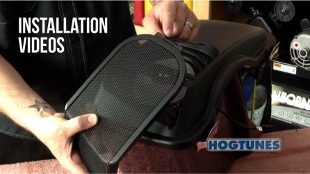 HOGTUNES Motorcycle Audio Installation Videos