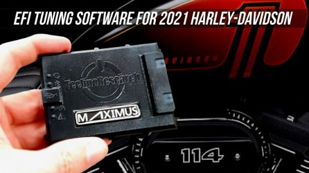 TechnoResearch MAXIMUS EFI Tuning Software for 2021 Harley Davidson Models
