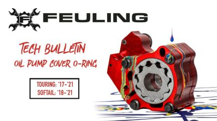 Feuling Tech Tips – Oil Pump Cover O-Ring